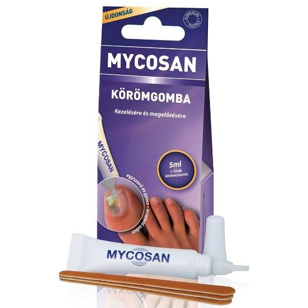 Mycosan körömgomba elleni ecsetelő - 5 ml