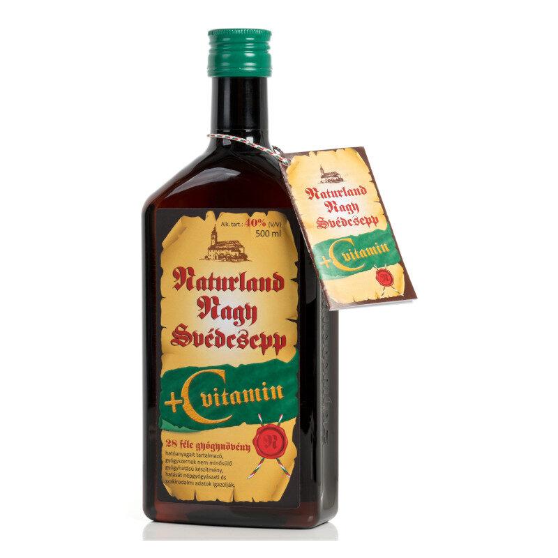 Naturland svédcsepp + C-vitamin – 500ml
