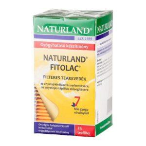 Naturland fitolac tea - 25 filter/doboz