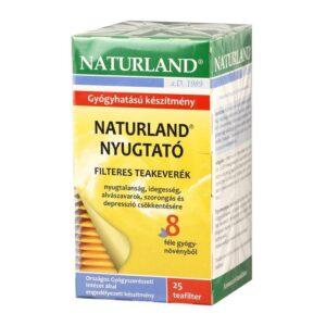 Naturland nyugtató tea - 25 filter/doboz