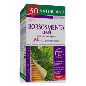 Naturland borsmenta tea – 25 filter/doboz