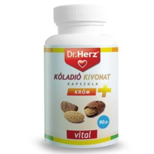 Dr. Herz Kóladió + Króm kapszula - 90db