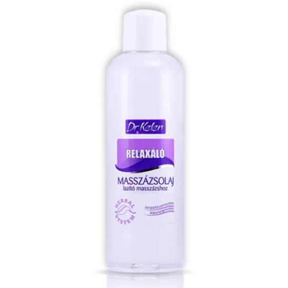 Dr. Kelen Relaxáló masszázsolaj - 1000 ml
