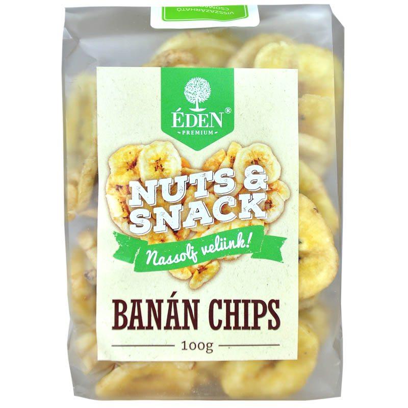 Éden Prémium banán chips - 100g