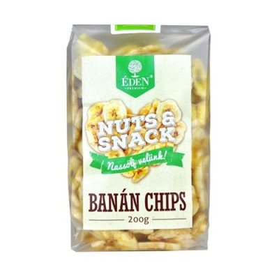 Éden Prémium banán chips - 200g
