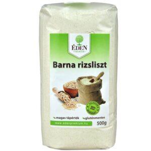 Éden Prémium barna rizsliszt - 500g