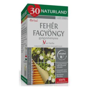 Naturland fehér fagyöngy tea – 25 filter/doboz