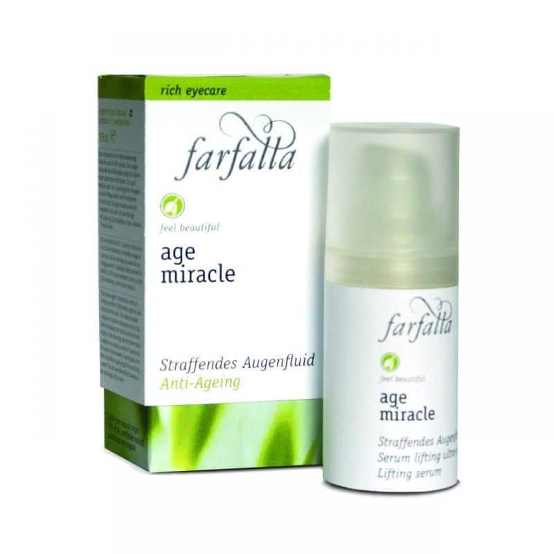 Farfalla Age Miracle szemkörnyék feszesítő folyadék - 15 ml