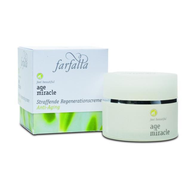Farfalla Age Miracle, Feszesítő és Regeneráló krém - 30 ml