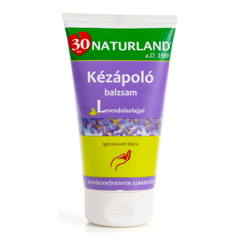 Naturland levendulás kézápló balzsam – 120ml