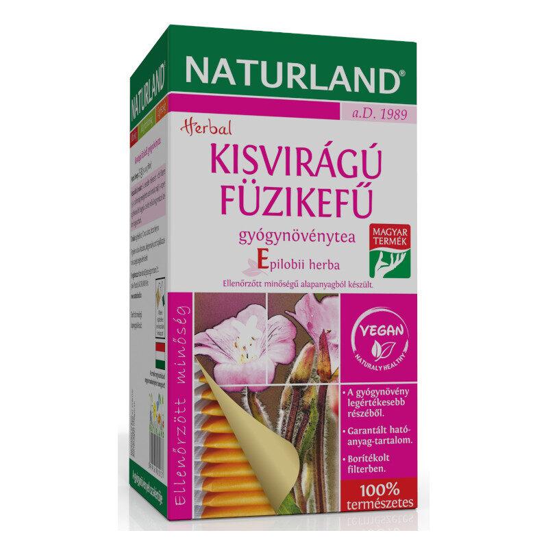 Naturland kisvirágú füzike tea - 25 filter