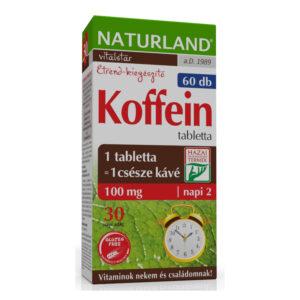 Naturland koffein tabletta - 60 db