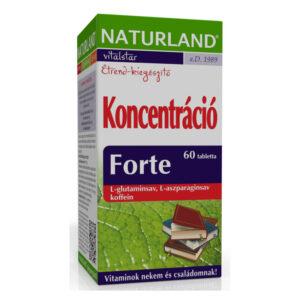 Naturland koncentráció forte tabletta – 60db