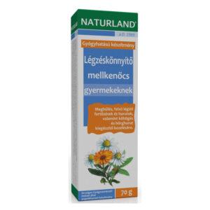 Naturland légzéskönnyítő mellkenőcs gyermekenek - 70 g