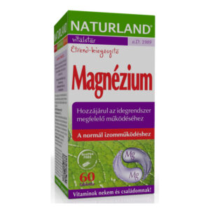 Naturland Magnézium tabletta - 60 db