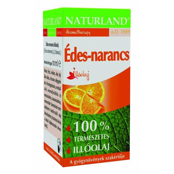 Naturland édes narancs illóolaj - 10ml