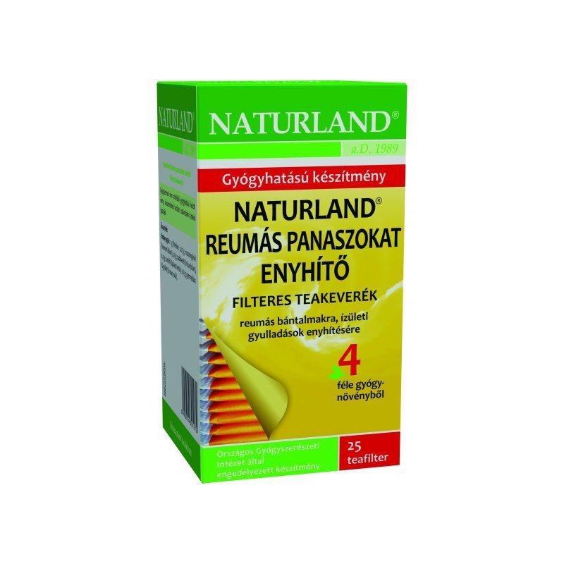 Naturland reumás panaszokat enyhítő tea - 25 filter