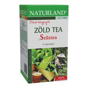 Naturland zöldtea szűztea - 20 filter