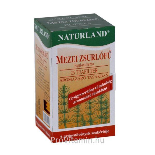 Naturland mezei zsúrló tea - 25 filter/doboz