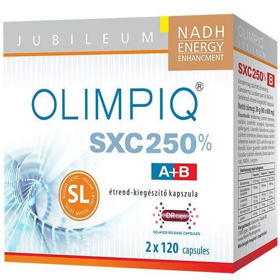 Olimpiq SXC 250% Jubileum DR kapszula - 120+120db