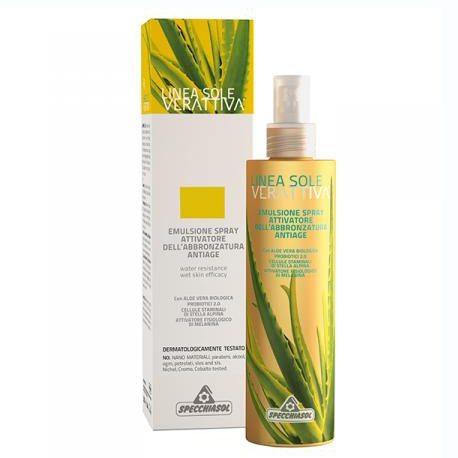 Specchiasol Verattiva 6 faktoros gyorsbarnító spray - 200ml