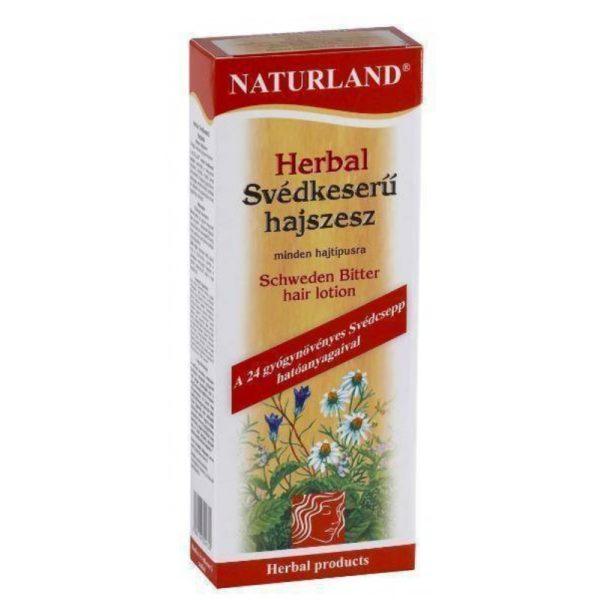 Naturland Herbal Svédkeserű hajszesz - 180 ml