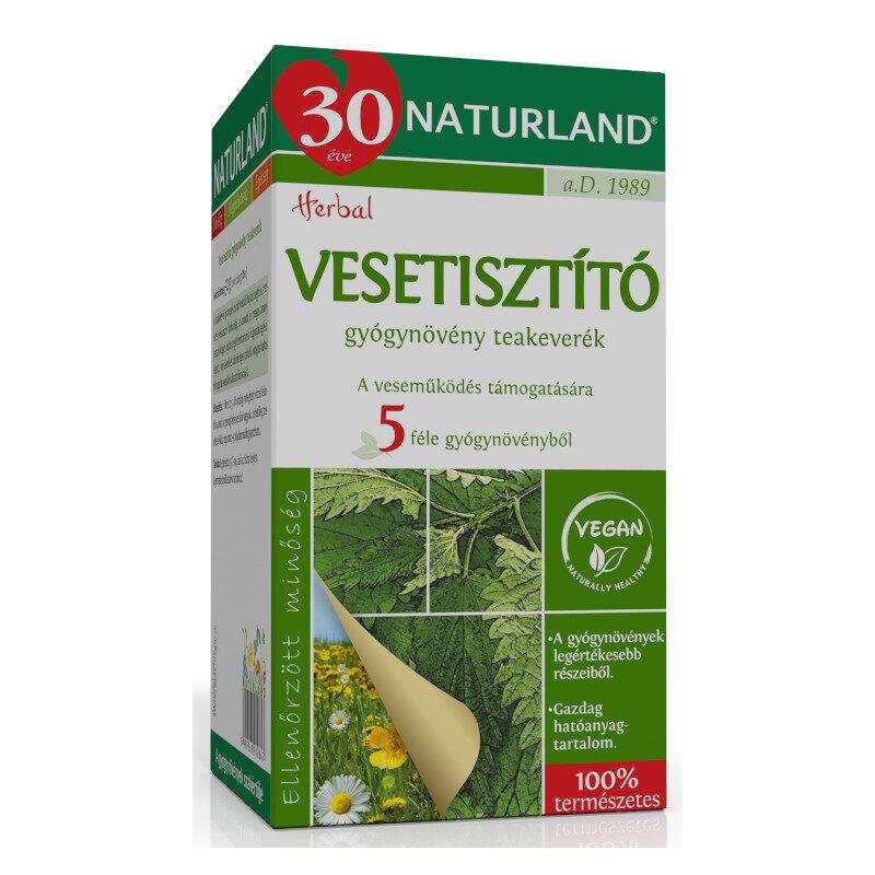 Naturland vesetisztító tea – 20 filter