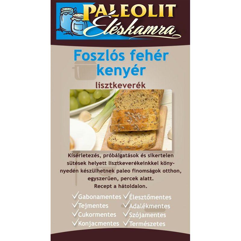 Paleolit Éléskamra foszlós fehér kenyér - 165g