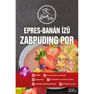 Szafi Free Zabpuding por eper-banán - 300g