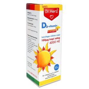 Dr. Herz D3-vitamin 1000NE csepp - 50ml