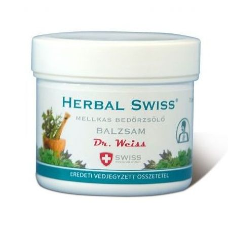 Herbal Swiss Mellkas bedörzsölő balzsam - 75ml