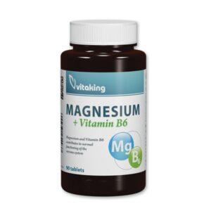 Vitaking Magnézium + B6-vitamin tabletta - 90db