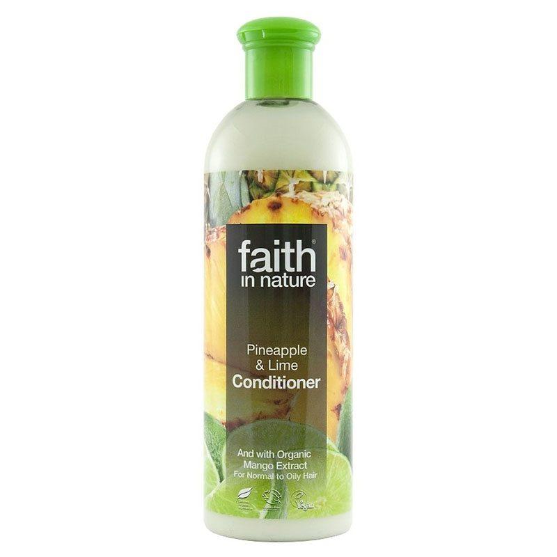 Faith in Nature Ananász-Lime hajkondícionáló - 400mlFaith in Nature Ananász-Lime hajkondícionáló - 400ml