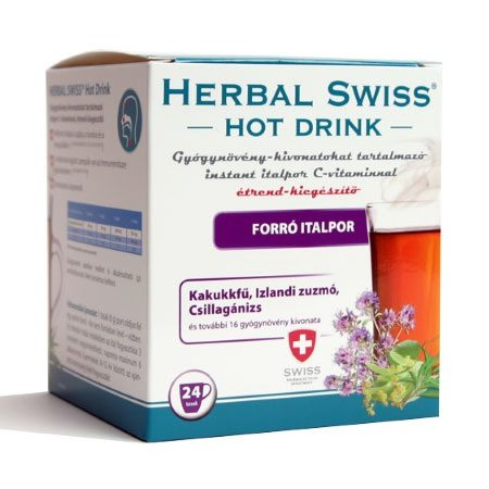 Herbal Swiss Hot Drink Instant italpor - 24db