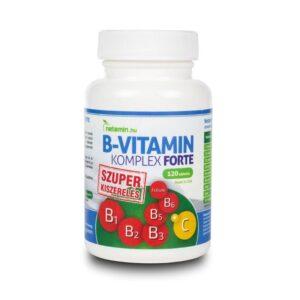 Netamin B-vitamin Komplex Forte kapszula - 120db