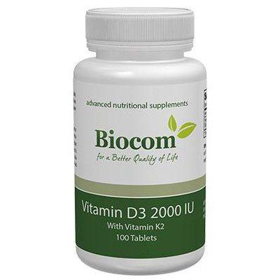 Biocom Ökonet Vitamin D3 2000IU tabletta - 100db