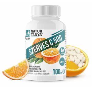 Natur Tanya Szerves C-vitamin 500mg rágótabletta - 100db