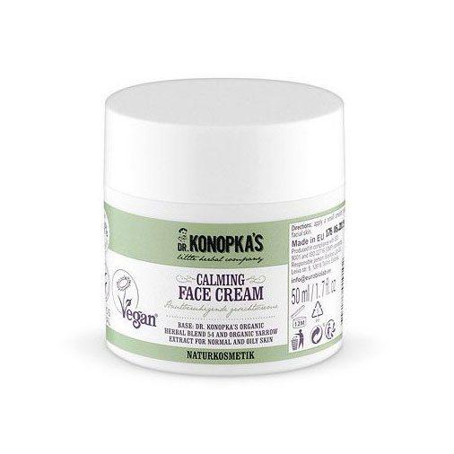 Dr. Konopka's Nyugtató-tápláló arckrém - 50ml