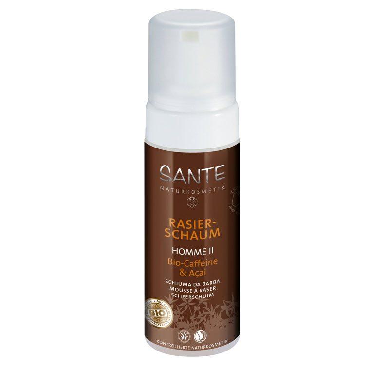 Sante Homme II borotvahab Bio koffeinnel és bio Akai bogyó kivonattal - 150 ml
