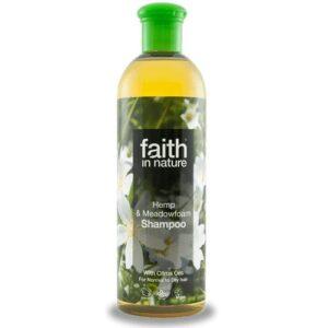 Faith in Nature kender és tajtékvirág sampon - 400ml