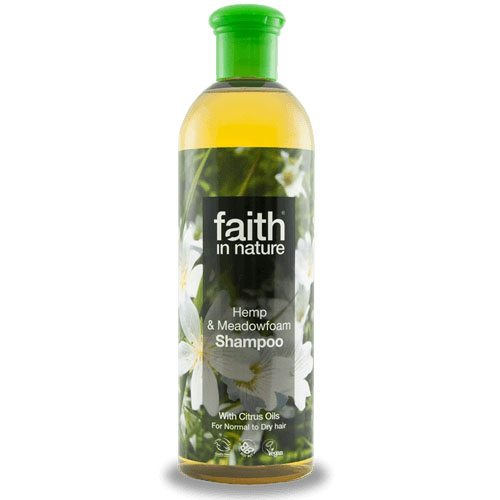 Faith in Nature kender és tajtékvirág sampon - 400ml