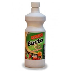 BactoEX Zöldség és gyümölcs biofertőtlenítő utántöltő - 1000ml