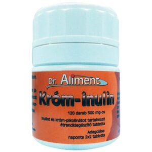 Dr. Aliment króm-inulin tabletta - 120 db