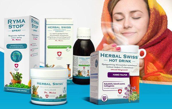 Győzze le a náthát a Herbal Swiss segítségével!