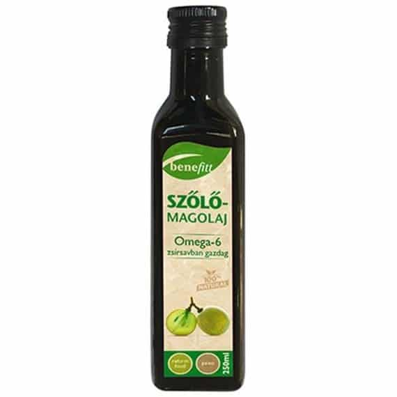 Interherb Benefitt Szőlőmagolaj - 250ml