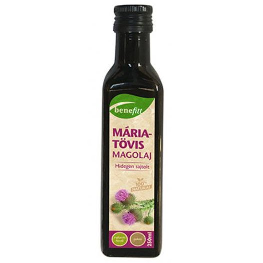 Interherb Benefitt máriatövis magolaj - 250ml