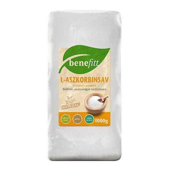 Interherb Benefitt L-Aszkobinsav - 1000g
