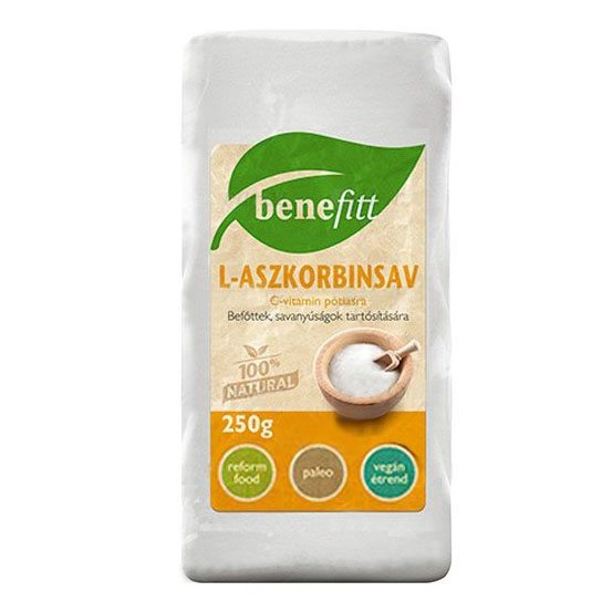Interherb Benefitt L-Aszkobinsav - 250g