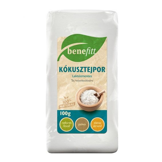 Interherb Benefitt kókusztejpor - 100g