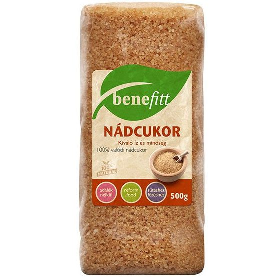 Interherb Benefitt nádcukor - 500g